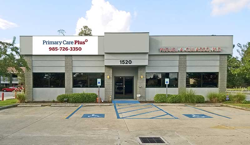 Primary Care Plus Baton Rouge O'Neal clinic location
